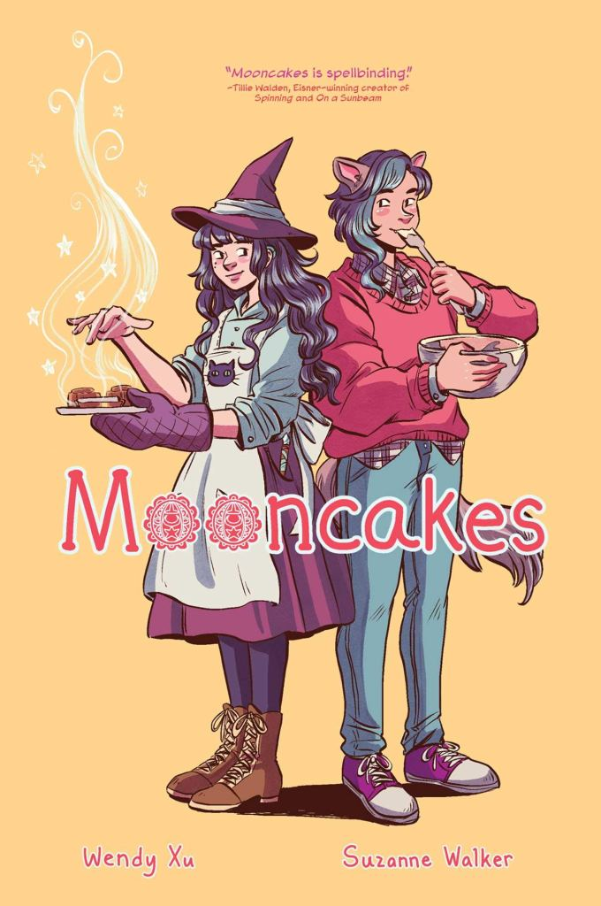 Cover of Mooncakes by Suzanne Walker and Wendy Xu